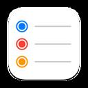 iCloud Reminders